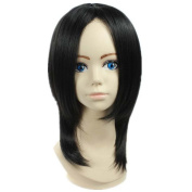 Etruke Anime Short Black Butler Sebastian Hair Cosplay Wigs