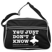 You Just Don't Know Northern Soul Messenger Bag FREE UK Postage