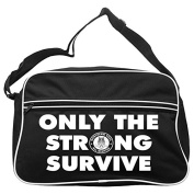 Only The Strong Survive Northern Soul Messenger Bag FREE UK Postage