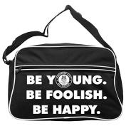Be Young Be Foolish Northern Soul Messenger Bag FREE UK Postage
