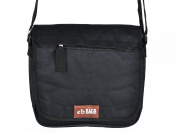 Canvas bag messenger bag men's bag shoulder bag - Black