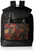 Black Nylon Rucksack by Fred Perry