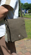 Shoulder Bag Pure Hemp Hemp HV001 Khaki