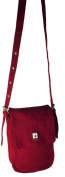 Shoulder Bag Hemp HV012 Bordo/Khaki Kombie Phone Case Pure