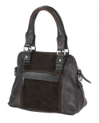 Real Leather Women's Handbag - 30x23x15 cm