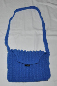 1 Crochet Bag-Blue