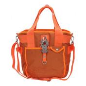 GEORGE GINA & LUCY She Knows Jack Handbag Neon Orange 33 cm
