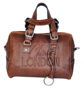 Classic Brown Women's Leather Handbag