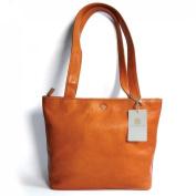 'Sevilla - Premium Sun Leather Shopper K Lined Colour