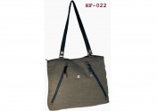 Shopper Hemp Hf022 Grey 42 cm Pure Cannabis Hemp