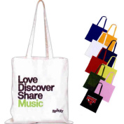 Superbagline QSB52 Royal Coloured Cotton Canvas Convention Tote - Pack of 25