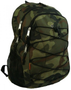 K-Cliffs Backpack 3 Compartment & 1 CD Pouch Camo