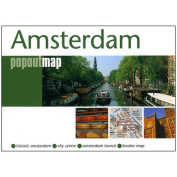 Universal Map 18910 Amsterdam Popout Map