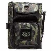 Christian Art Gifts 364264 Bible Cover-Three Fold Organiser-Armour Of God - Large - Camo