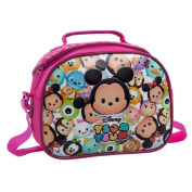Tsum Tsum Shoulder Beauty Case, 28 cm, 5.32 Litres, Pink