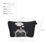 Women's Girls Make Up Bag Wash Bag Toiletry Cosmetics Wallet Pencil Pen Holder Organiser Pouch Case