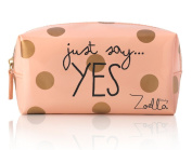 Zoella Beauty Just Say Yes Peach Beauty / Make Up Bag / Pencil Case