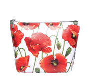 Poppy Print Make Up Bag