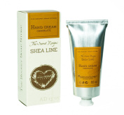 Hand Cream with Shea Butter (20%) and chocolate (80 ml). Perfect protection against cold and frostbite! Very efficient!