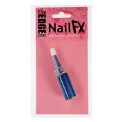 The Edge Nail FX Nail Art Blue Glitter Pen