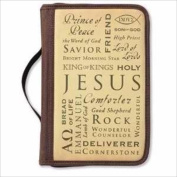 Zondervan Gifts 114636 Bible Cover Inspiration Names Of Jesus Canvas Large