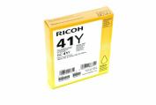 Ricoh Corp. 405764 Yellow Print Cartridge GC41Y