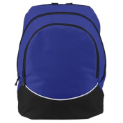 Augusta 1915A Large Tri-Colour Backpack Purple - All
