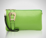 Donna Bella Designs DBLC01-LIM Polly by Donna Bella Designs Clutch Lime