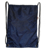 DDI 703102 Large Drawstring Backpack 46cm . x 33cm . Navy. Case Of 100