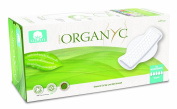 Organyc Sanitary Towels with Wings made from 100% Organic Cotton, Flat, Extra-Thick, 4-Pack