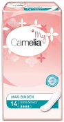 Camelia Maxi - Light Bladder-Weakness Pads - 6 Packs of 14 Each