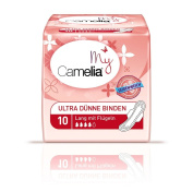 Camelia Ultra Long Sanitary Pads with Wings