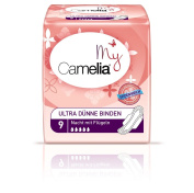 Camelia Ultra Night Sanitary Pads with Wings