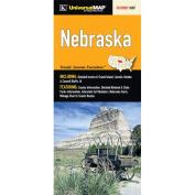 Universal Map 26198 Nebraska State Fold Map