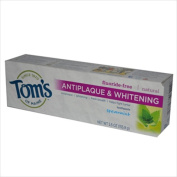 TomS Of Maine Antiplaque And Whitening Toothpaste Spearmint - 160ml