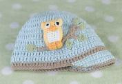 Lillian Rose 24CA210 OB Blue Owl Cap 0-6 Months