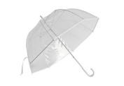 Elite Rain Frankford GB01-WH Clear Golf Bubble Umbrella White Trim