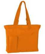 UltraClub 8811 Super Feature Tote Bag - Safety Orange