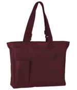 UltraClub 8811 Super Feature Tote Bag - Maroon