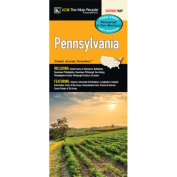 Universal Map 14225 Pennsylvania Laminated Map