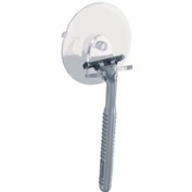 Inter-Design 28400 Razor Holder Clear