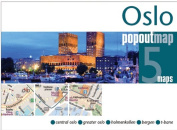Universal Map 11077 Oslo Popout Map