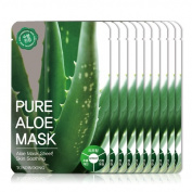 [Tosowoong] masksheet 10PCS/Mask pack/Essence Facial Mask/Mask Sheet/Aloe/Blueberry/Green tea/Snail/Deep sea water/Propolis