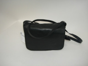 R And R Collection 2-304-1K-BLK Medium Size Front Flap Organiser Bag Black