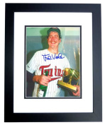 Real Deal Memorabilia FViola8x10-1BF Frank Viola Autographed Minnesota Twins 8x10 Photo BLACK CUSTOM FRAME - 1987 World Series Champion and MVP