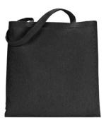 UltraClub 8860 Tote without Gusset - Black