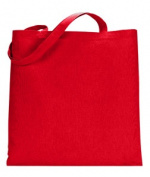 UltraClub 8860 Tote without Gusset - Red