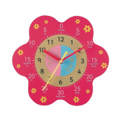 Early Learning Centre - Wall Clock - Pink