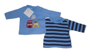 BABY BOYS LONG SLEEVED TOPS 2 PACK VEHICLE LOGO