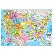 Universal Map 16172 United States Advanced Political Mounted Map